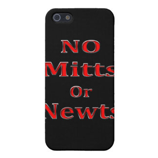 Anti Newt Gingrich Mitt Romney red Cover For iPhone SE/5/5s