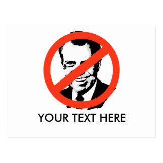 ANTI-NIXON Anti-Richard Nixon Post Card