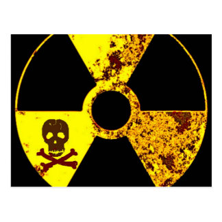 ANTI-NUCLEAR ENERGY PROTEST POSTCARD