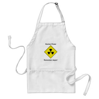 Anti Nuclear Power Adult Apron