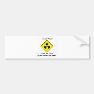 Anti Nuclear Power Bumper Sticker