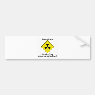 Anti Nuclear Power Car Bumper Sticker