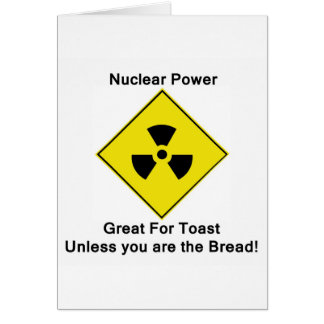Anti Nuclear Power Card