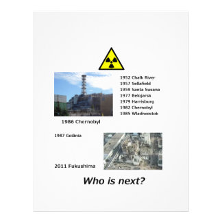 Anti Nuclear Power flyer