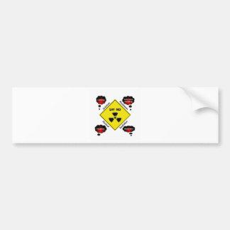 Anti Nuclear Power Logo Car Bumper Sticker