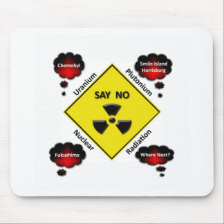 Anti Nuclear Power Logo Mouse Pad