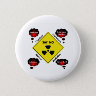 Anti Nuclear Power Logo Pinback Button