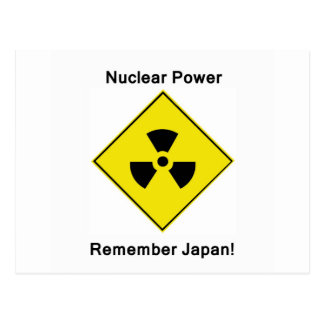 Anti Nuclear Power Logo Postcard