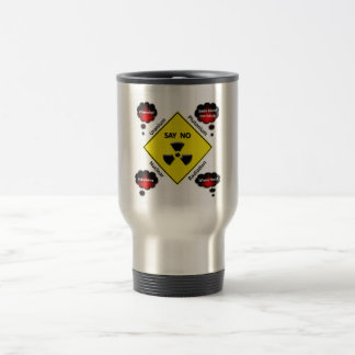 Anti Nuclear Power Logo Travel Mug