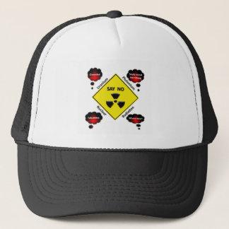 Anti Nuclear Power Logo Trucker Hat