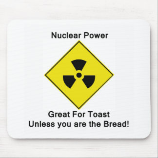 Anti Nuclear Power Mouse Pad