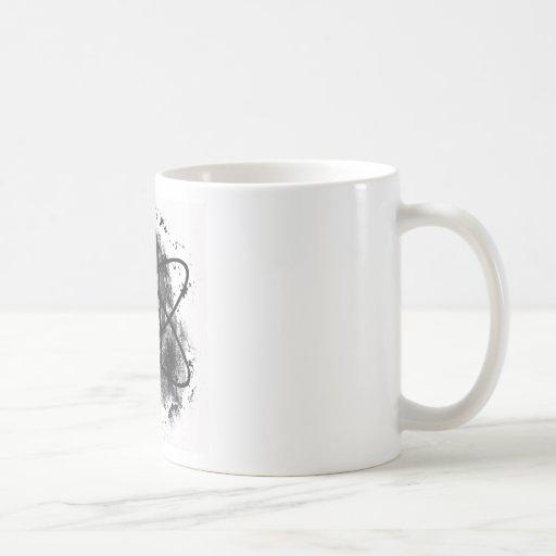 """Anti Nuclear Skeleton""* Coffee Mug"