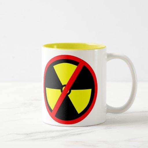 Anti-Nuclear Symbol Mug