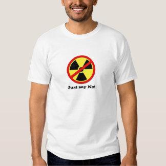 Anti Nuke - Just say No! Shirt