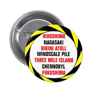 Anti-NUKE Pinback Button