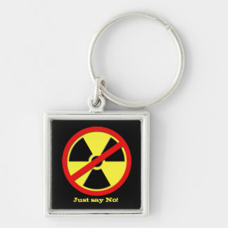 Anti Nukes - Japan says No! Keychain