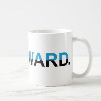 """Anti-Obama 2012 - """"DOWNWARD."""" Classic White Coffee Mug"""