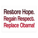 Anti Obama 2012 Election Post Cards
