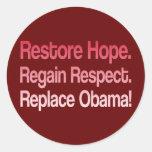Anti Obama 2012 Election Sticker