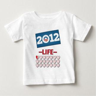 Anti Obama 2012 No Life Baby T-Shirt
