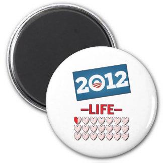 Anti Obama 2012 No Life Magnet