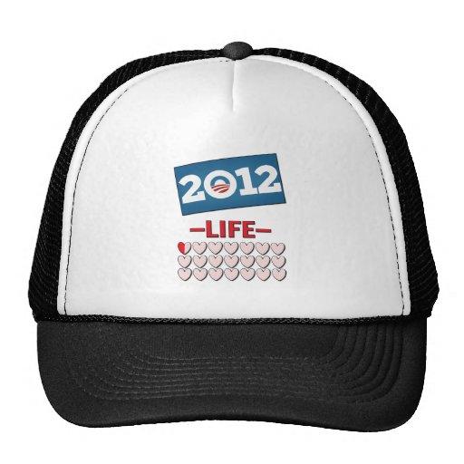 Anti Obama 2012 No Life Trucker Hat