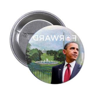 Anti-Obama adelante Pin Redondo De 2 Pulgadas