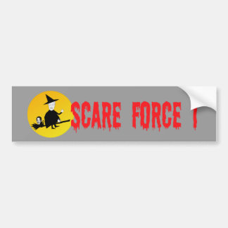 Anti Obama,anti Hillary Halloween Bumper Sticker