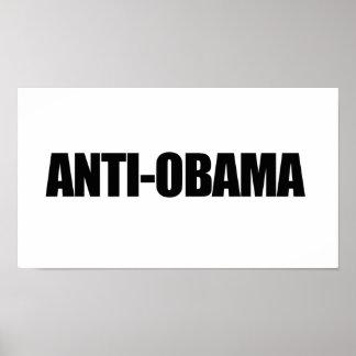 Anti-Obama - ANTIOBAMA Posters