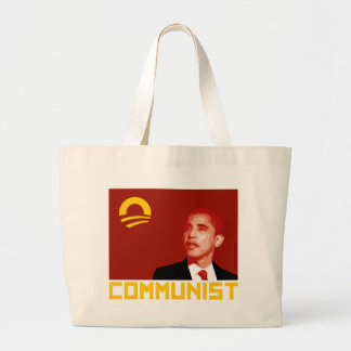 Anti-Obama Barack Obama Communist Tote Bag