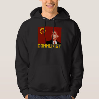Anti-Obama: Barack Obama Communist Hoodie