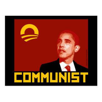 Anti-Obama Barack Obama Communist Post Cards