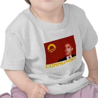 Anti-Obama Barack Obama Communist T-shirt