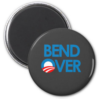 Anti-Obama - Bend Over 2 Inch Round Magnet