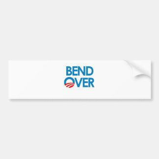 Anti-Obama - Bend Over Bumper Sticker