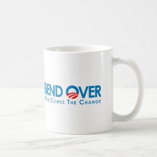 Anti-Obama - Bend Over for change Coffee Mug