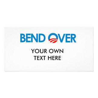 Anti-Obama - Bend Over Custom Photo Card