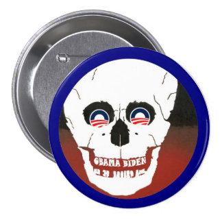 Anti-Obama-Biden Pin Redondo 7 Cm
