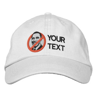 Anti-Obama bordó el gorra Gorra De Beisbol