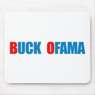 Anti-Obama - Buck Ofama blue Mouse Mat