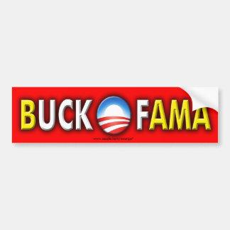 Anti Obama Buck Ofama sticker Bumper Sticker