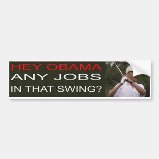 Anti-Obama Bumper Sticker