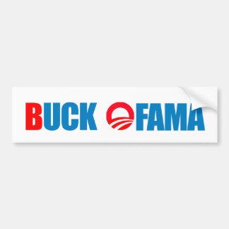 Anti-Obama Bumper Sticker: Buck Ofama Bumper Sticker