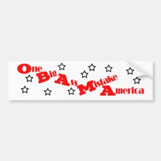 Anti Obama Bumper Sticker Car Bumper Sticker