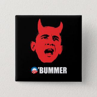 Anti-Obama Bumper Sticker - Obummer Button