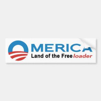 Anti Obama Bumper Sticker - Omerica Car Bumper Sticker