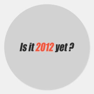 Anti-Obama Bumpersticker - 2012 Yet Round Stickers
