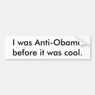 Anti-Obama Bumpersticker Car Bumper Sticker