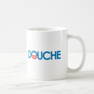 Anti-Obama Bumpersticker - Douche Coffee Mug