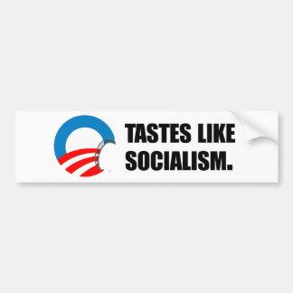 Anti-Obama Bumpersticker - los gustos tienen gusto Pegatina Para Auto